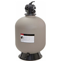 "24"" Swimming Pool Sand Filter System 7-Way Valve Pond up to 29,400"