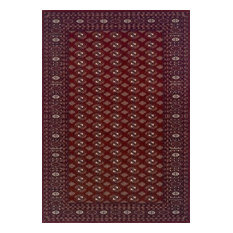 Wool Classic Rug, Red, 120x180 cm