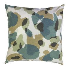 "Tasanee Geometric Down Filled Throw Pillow, Citrine, 12""x18"""