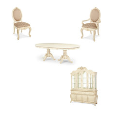 Lavelle Dining Room Set With China Biffet 9-Piece Set
