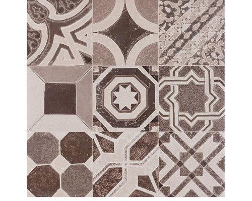 Rio Retro Mix Cinza - Wall & Floor Tiles