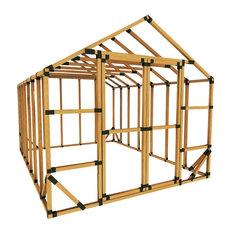 10x14 Standard Storage Shed Kit, No Floor