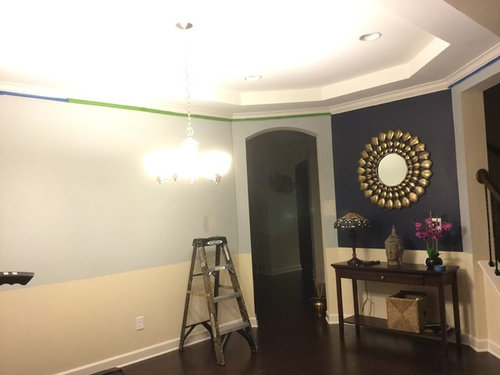 need help with complimentary color to go with navy blue. Black Bedroom Furniture Sets. Home Design Ideas