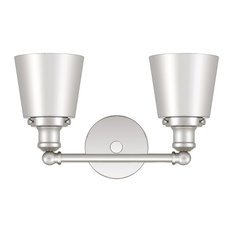 Quoizel Union 2-LT Bath Light UNIM8602PK, Polished Nickel