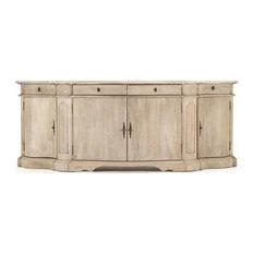 COURBE Buffet Cabinet Hutch Sideboard Oak