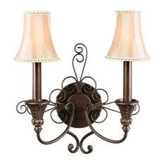 rustikale wandleuchten wandlampen und wandstrahler. Black Bedroom Furniture Sets. Home Design Ideas