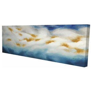 Abstract Clouds Print On Wrapped Canvas Contemporary Prints And Posters By Begin Edition