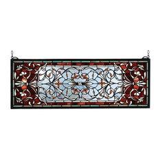 Meyda Tiffany 98059 Tapestries Stained Glass Tiffany Window