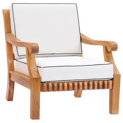 Transitional Outdoor Lounge Chairs by Chic Teak
