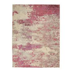 Nourison Celestial Area Rug, Ivory/Pink, 10'x14'