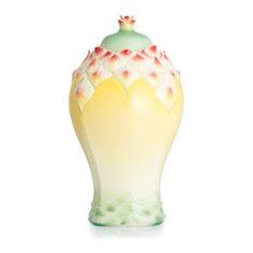 Franz Porcelain Collection Florissima Pineapple Ginger Jar