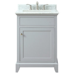 Transitional Bathroom Vanities And Sink Consoles by Azzuri Bath Furniture