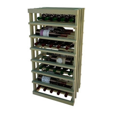 Lois Wine Rack, Dark Walnut