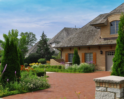 French Country Landscape Houzz