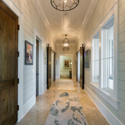 Inspiration for a coastal home design remodel