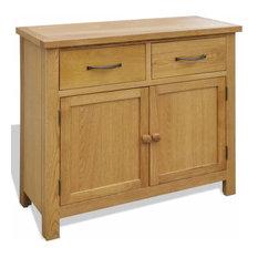 vidaXL Oak Sideboard, 90x33.5x83 cm