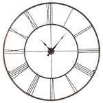 Howard Miller Postema Gallery Wall Clock Industrial