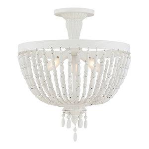 Savoy House Europe Geneva Light, Semi-Flush, 3 Lights