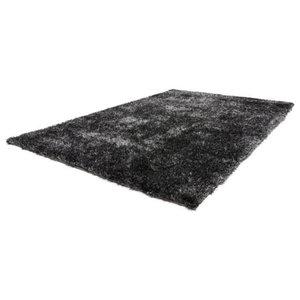 Diamond Shag Rug, Anthracite, 160x230 cm