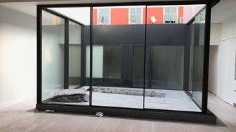 Création d'un patio