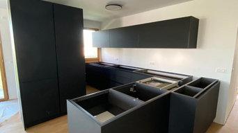 Montage Cuisine Varenna - Projet Saint Ouen