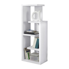 Accent Display Unit Bookcase, White