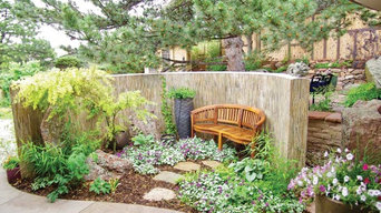 Featured Serene Interactive Garden