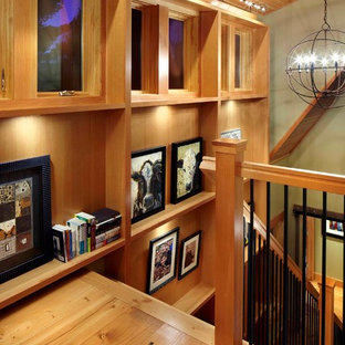 Inspiration for an eclectic staircase remodel in Minneapolis