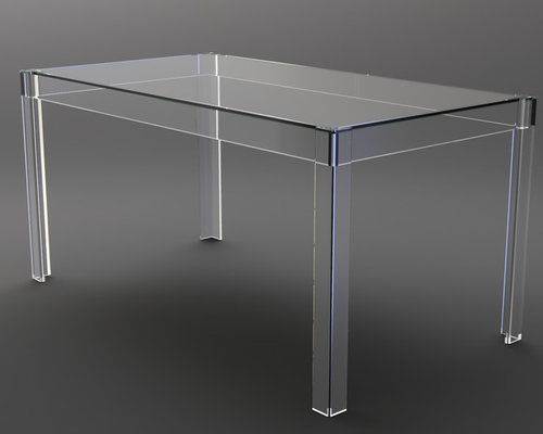 Perspex Acrylic Lucite Tables