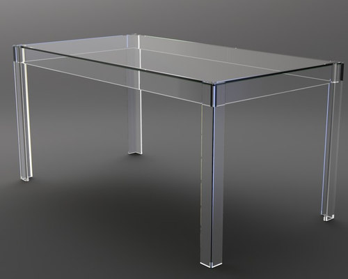 Perspex / Acrylic / Lucite Tables