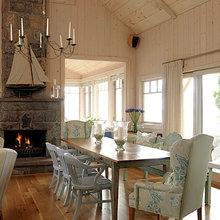 Sarah's Main House: Fireplace