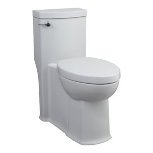 Magnificent Woodbridge Short Compact One Piece Toilet With Soft Closing Pabps2019 Chair Design Images Pabps2019Com