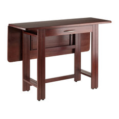 Winsome Taylor Drop Leaf Dining Table in Walnut