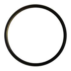 "Aluminum Trim Ring for Fire Pit Burners, 24"""