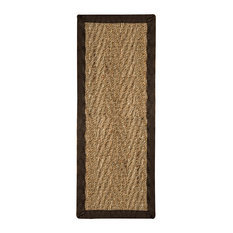 "Natural Area Rugs, Beach Stair Treads Carpet (9""x29""), Malt, 9""X29"" Set of"