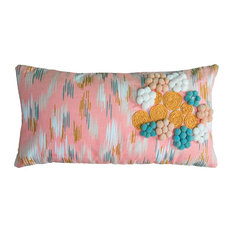 """Rizzy Home 11""""x21"""" Pillow"""