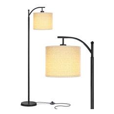 Brightech Montage - Bedroom & Living Room Floor Lamp - Reading Standing Light, C
