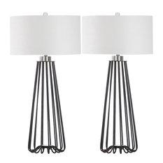 """Safavieh Estill 34"""" Table Lamps, Set of 2"""