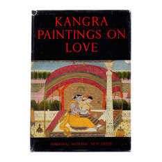 """Decorative Book, """"Kangra Paintings on Love"""" Color Plates"""