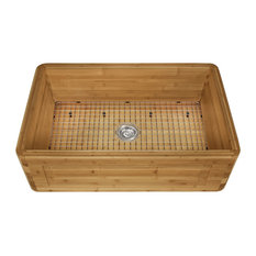 MR Direct Sinks and Faucets - Bamboo Apron Kitchen Sink, 894, Sink Only - Kitchen Sinks