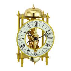 Lahr Skeleton Table Clock, Gold