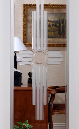 Sedona Decorative Interior Glass Door   Interior Doors