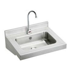 Elkay ELVWO2219SACC Stainless Steel Lavatory Sink Fixture, Stainless Steel