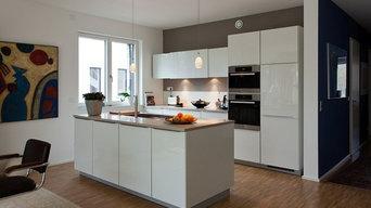 Küche mit Block