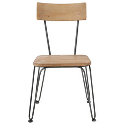 Industrial Dining Chairs by GDFStudio