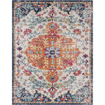 "Surya - Surya Harput HAP1000 Neutral/Blue Area Rug, 7'10""x10'3"" Rectangular - The vibrant and eclectic designs in Surya's Harput collection will set your space apart with a spash of color and edgy style. The tight patterns and vibrant untraditional colors in this polypropylene rug are sure to catch the eye of visitors. This collection is machine made in Turkey and easily cleaned."