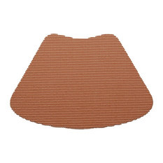 Kraftware Fishnet Bronze Wedge Placemats, Set of 12