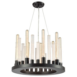 Transitional Chandeliers by House Lighting Design