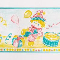 Children's Paradise - Self-Adhesive Wallpaper Borders Home Decor(Sample)