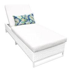 Miami Chaise Outdoor Wicker Patio Furniture